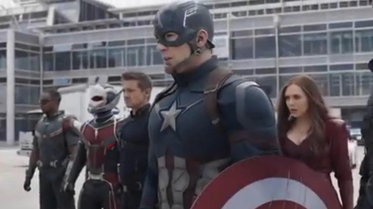 Spider-man duikt op in nieuwe trailer Captain America: Civil War