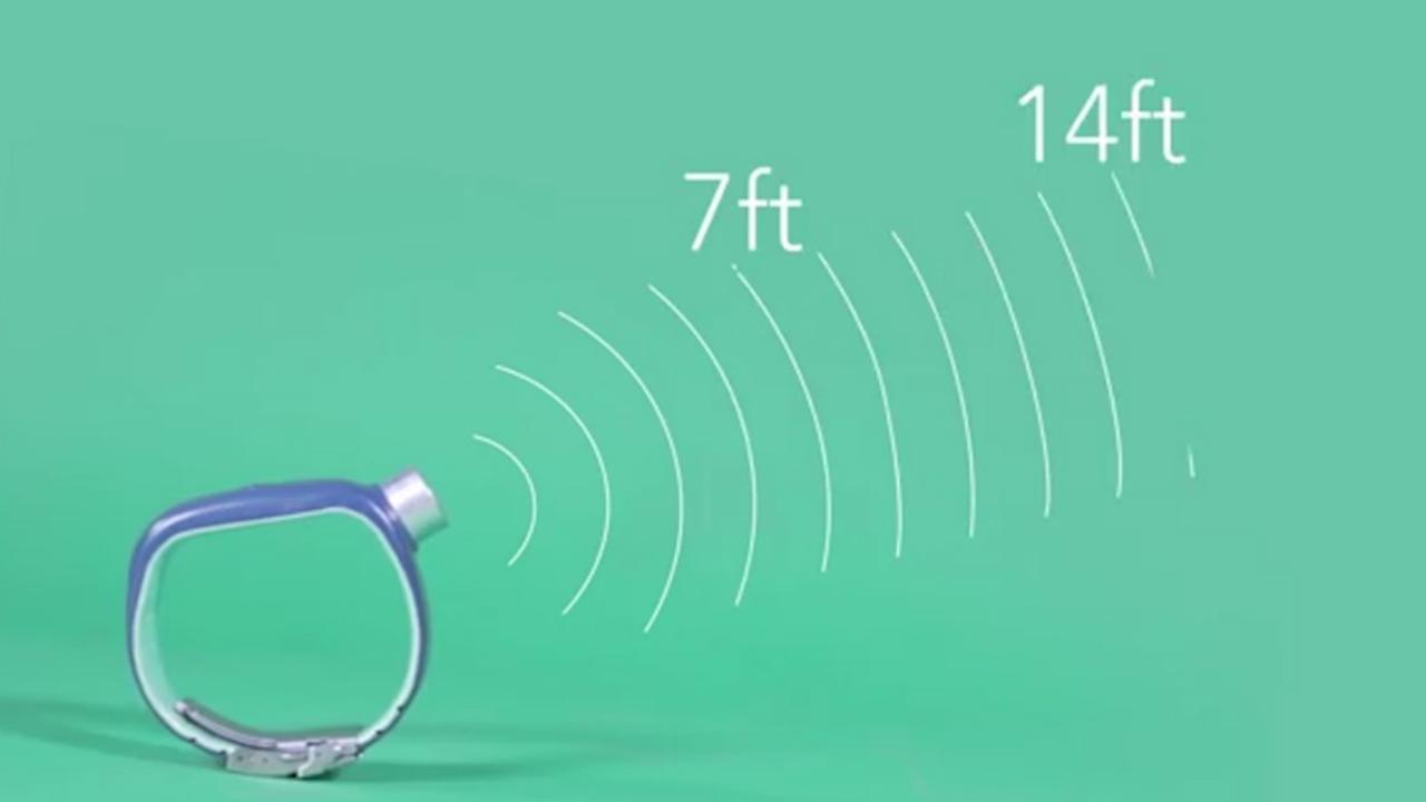 'Fitbit voor blinden' werkt als sonar