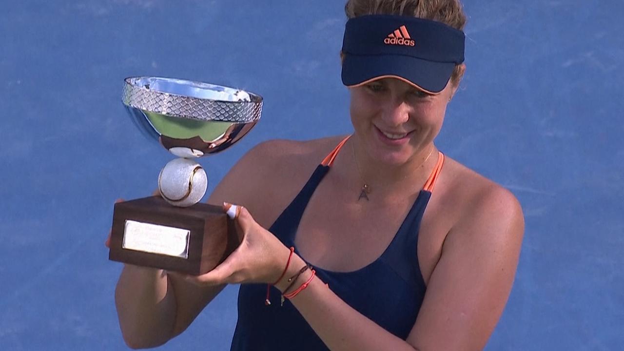 Pavlyuchenkova verrast Kerber in finale Monterrey