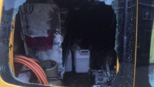 Accuschuurmachines uit bedrijfswagens gestolen in Alphen