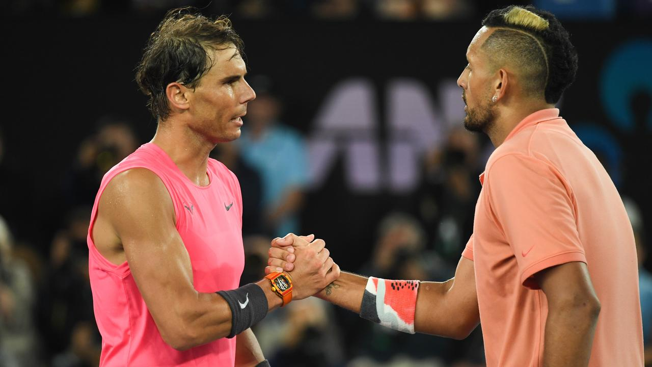 "Nadal: ""This tournament was Kyrgios the way I like it ..."