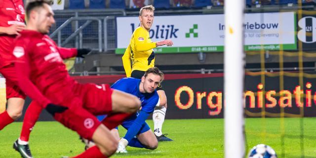 NAC Breda haalt in Keuken Kampioen Divisie uit tegen concurrent Almere City