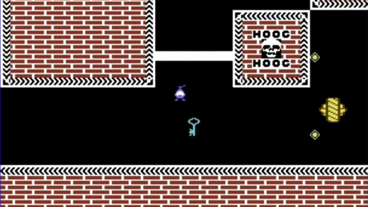 Radarsoft-game Eindeloos (Commodore 64)