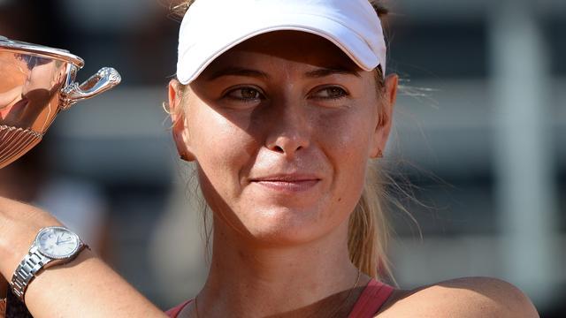 Tennisster Maria Sjarapova weer vrijgezel