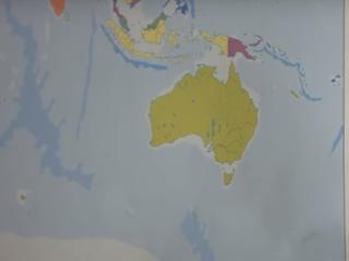 Land ontbreekt op veel bekende wereldkaarten
