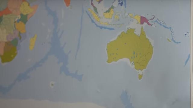 Premier Nieuw-Zeeland steunt campagne om land op wereldkaarten te krijgen