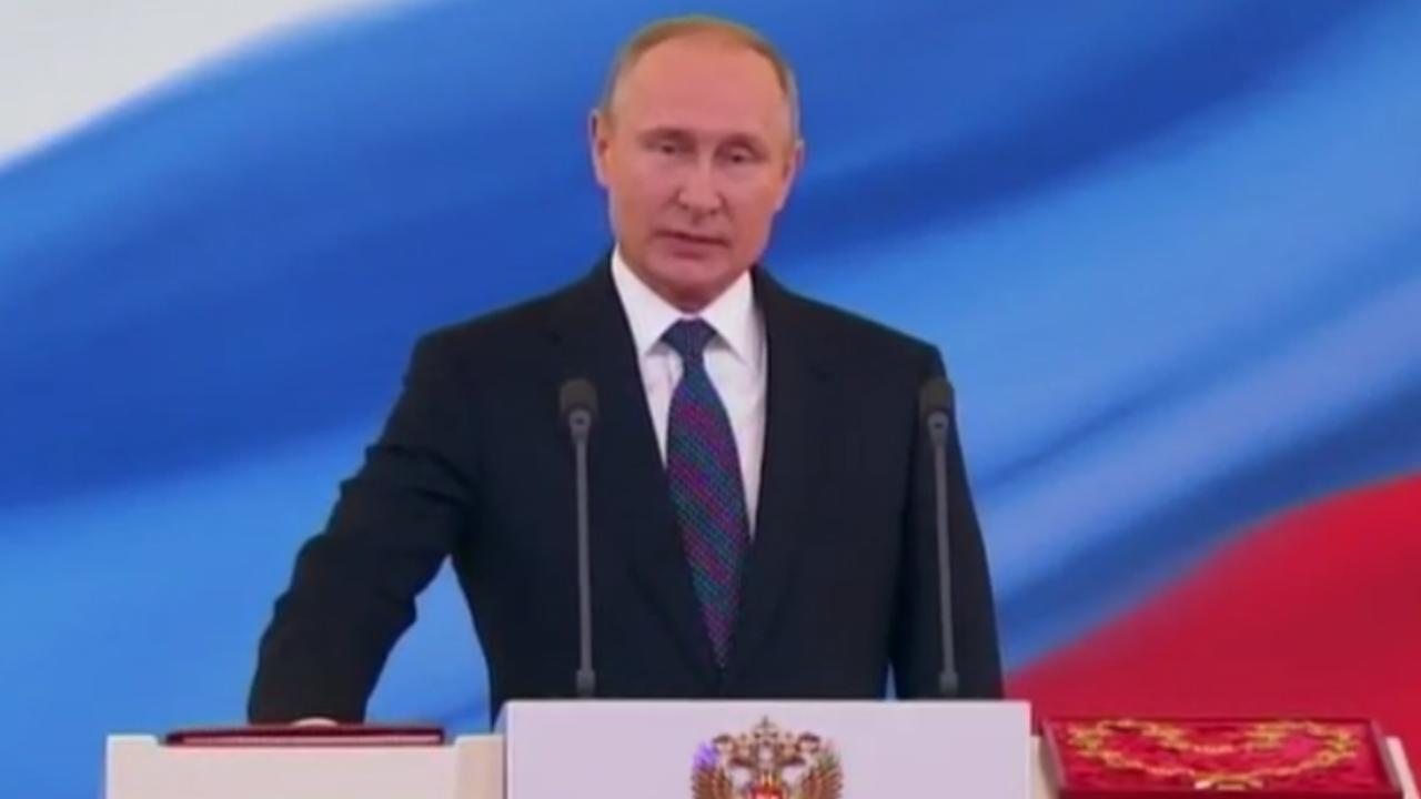 Poetin legt eed af voor vierde termijn als president Rusland