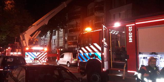 Drie gewonden bij brand in flat Rotterdam, bewoners geëvacueerd