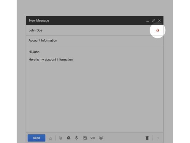 Waarschuwing in Gmail