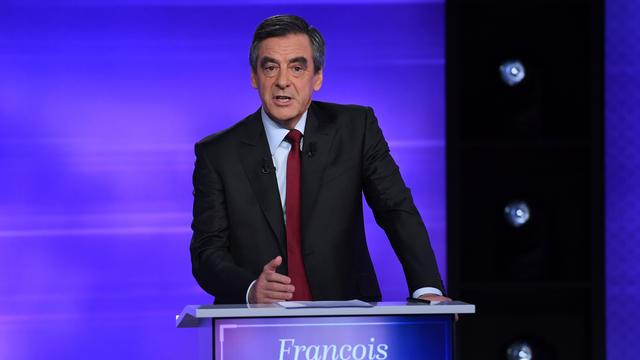 'Fillon maakte meeste indruk in laatste debat Franse conservatieven'
