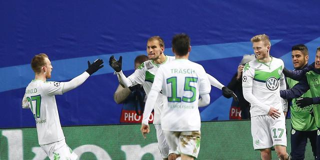 Wolfsburg doet goede zaken in poule PSV door zege op CSKA