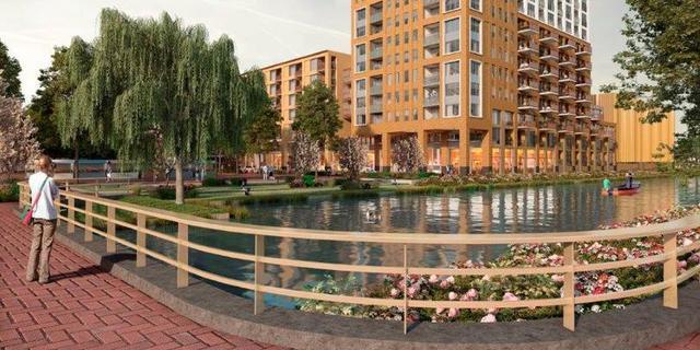 Winkelcentrum Schalkwijk wordt komende jaren vernieuwd