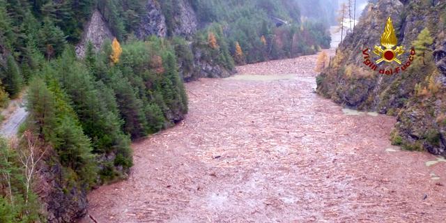 Zeker 14 miljoen bomen ontworteld door stormweer in Noord-Italië