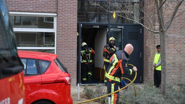 Brand bij MBO Rijnland, leerlingen zijn geëvacueerd