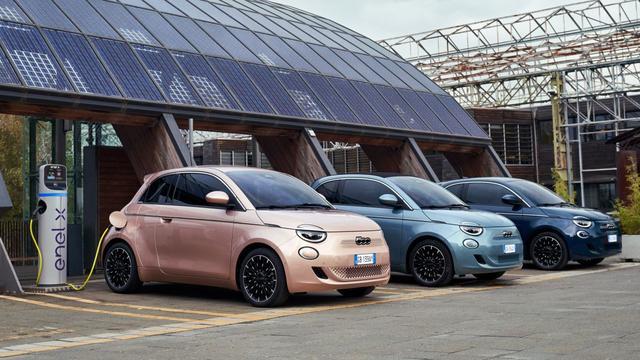 SHARE NOW heeft sinds kort de elektrische Fiat 500 in het aanbod.