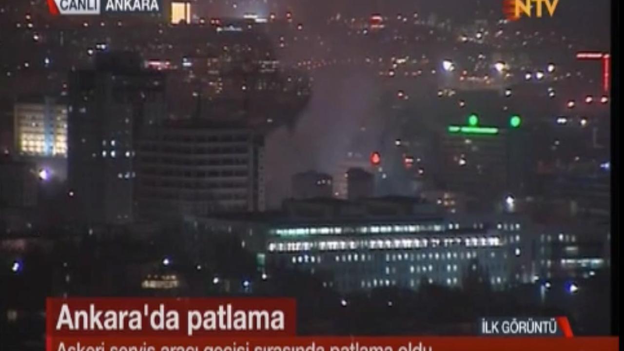 Doden en gewonden bij explosie Ankara
