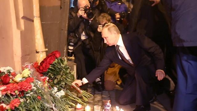 Dodental bomaanslag Sint-Petersburg loopt op naar veertien