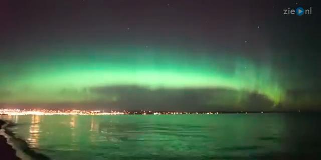 'Noorderlicht steeds zuidelijker aan hemel te zien'