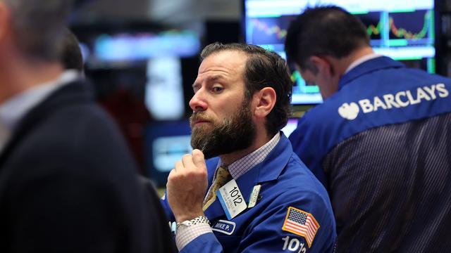 Wall Street in balans na cijferstromen