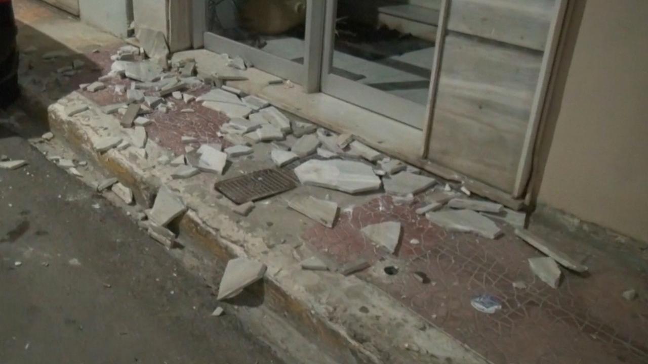 Schade op Grieks eiland Zakynthos na zware aardbeving
