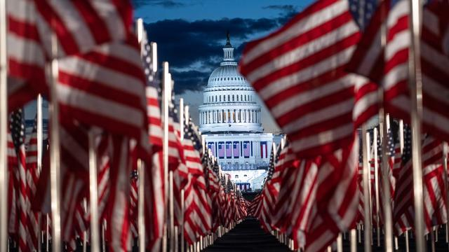 On Wednesday morning, final preparations were made for the inauguration of Joe Biden and Kamala Harris as President and Vice President of the United States.