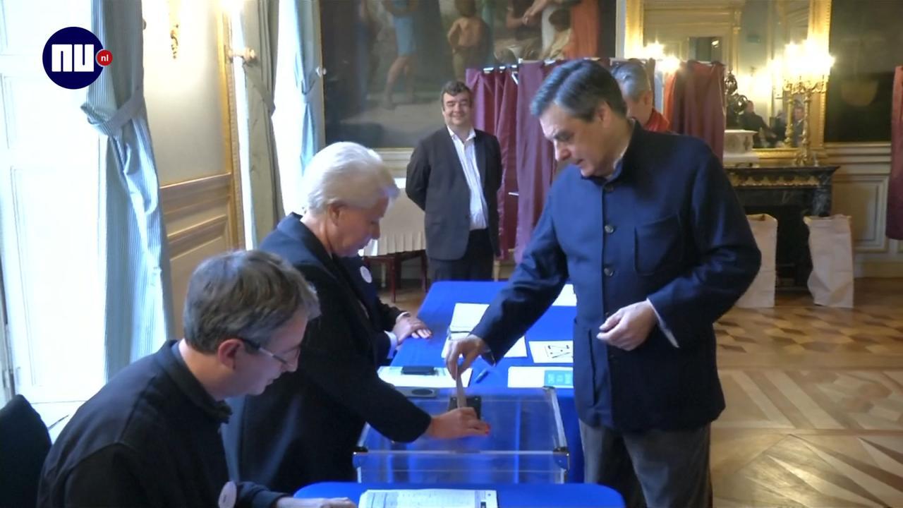 Verkiezingen centrumrechtse partij Frankrijk
