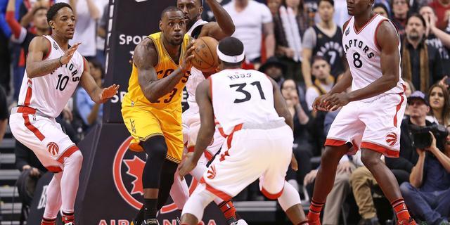 Clubrecord voor Raptors door zege in NBA-topper tegen Cavaliers
