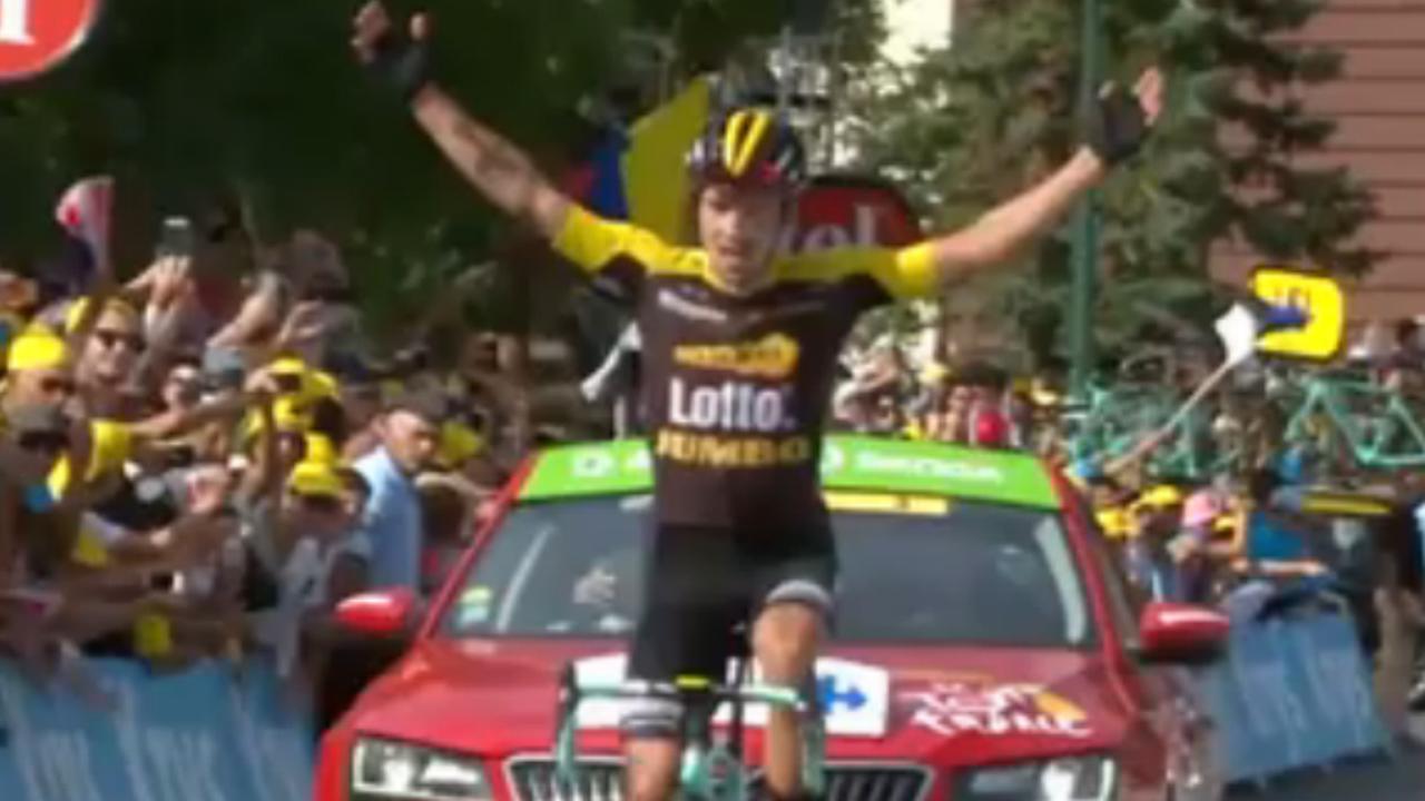 Roglic wint zeventiende etappe Tour de France