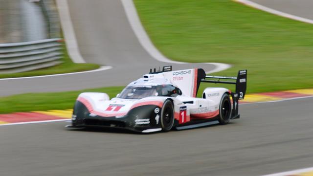 Porsche verbetert ronderecord Hamilton op Spa