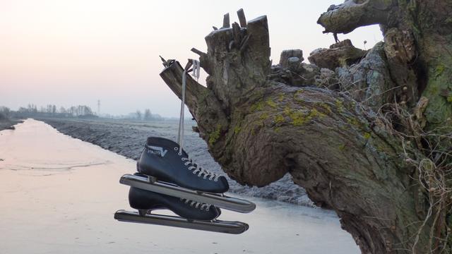 Nog geen maatregelen om schaatsen op grachten mogelijk te maken