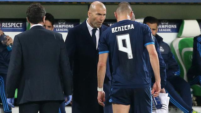 Zidane vindt dat Real rustig moet blijven na verlies tegen Wolfsburg