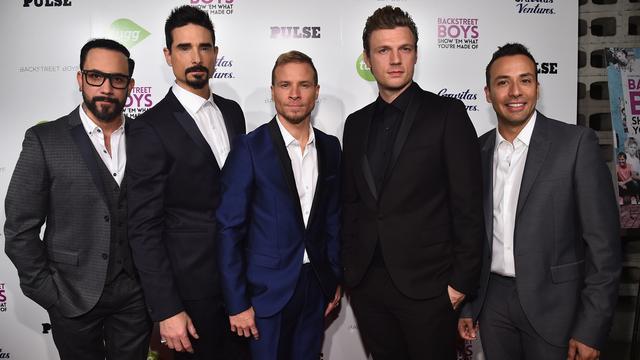 Backstreet Boys na achttien jaar weer bovenaan Amerikaanse hitlijst