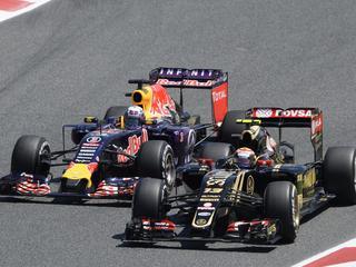 'We kunnen dit seizoen eigenlijk al afschrijven bij Red Bull'