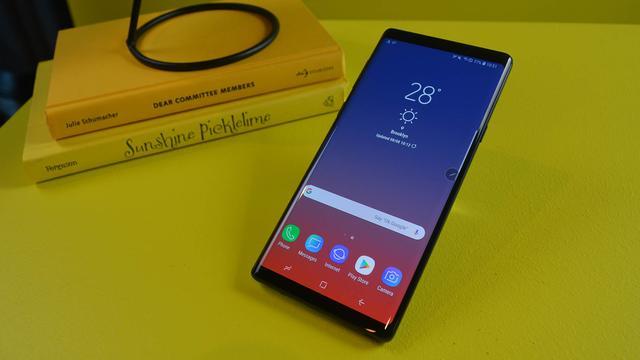 Samsung kondigt Galaxy Note 9 met grotere accu en slimme camera aan