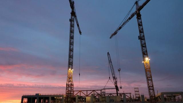 55 ton aan staal lucht in bij Gerechtsgebouw