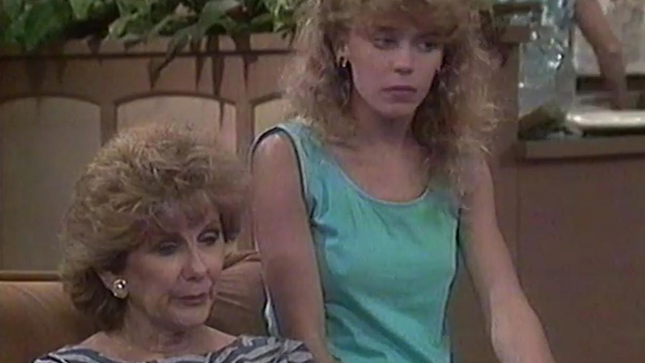 Kylie Minogue in Neighbours (1986)