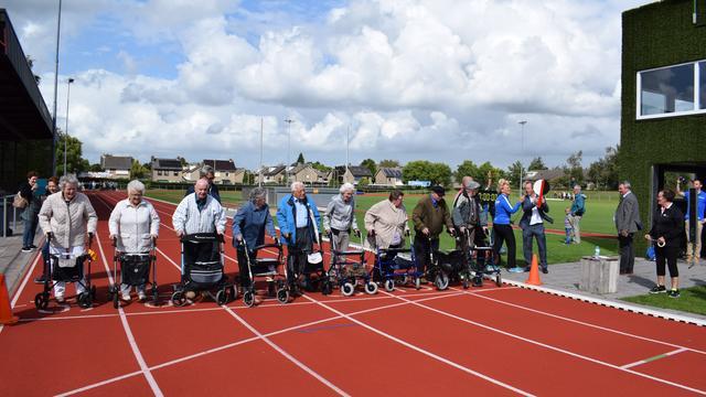 Eerste rollatorloop Etten-Leur georganiseerd