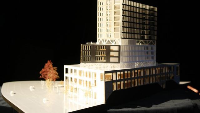 Breda krijgt 66 meter hoog gerechtsgebouw