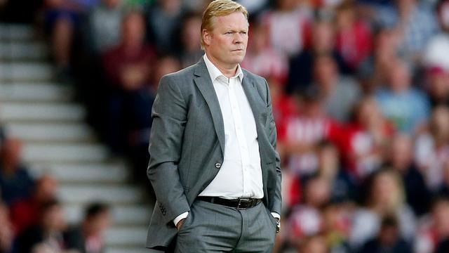 Koeman spreekt van 'geweldig resultaat' tegen Vitesse