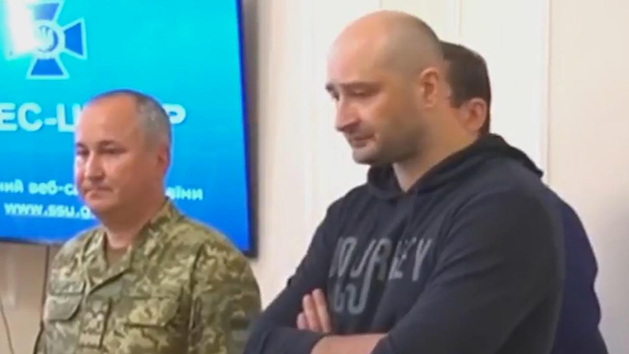 'Vermoorde' Russische journalist blijkt nog te leven
