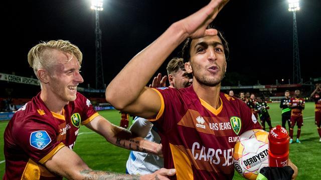 El Khayati komt belofte aan familie na met vier goals voor ADO