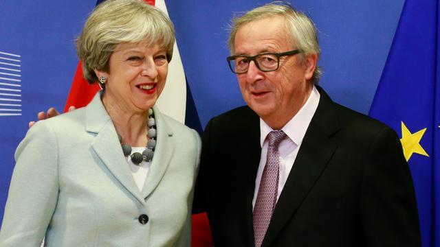 EU en VK bereiken akkoord over eerste voorwaarden Brexit