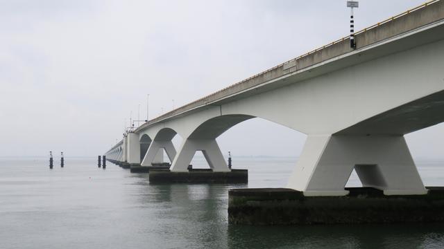 Trajectcontrole op de Zeelandbrug vanaf volgende week in gebruik