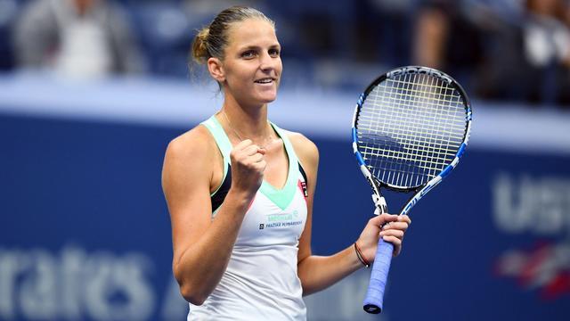 Karolina Pliskova moeizaam naar derde ronde US Open