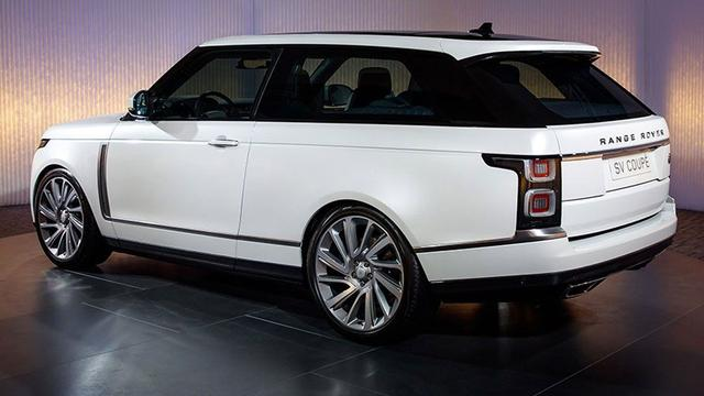 Bouw exclusieve Range Rover SV Coupé gaat niet door