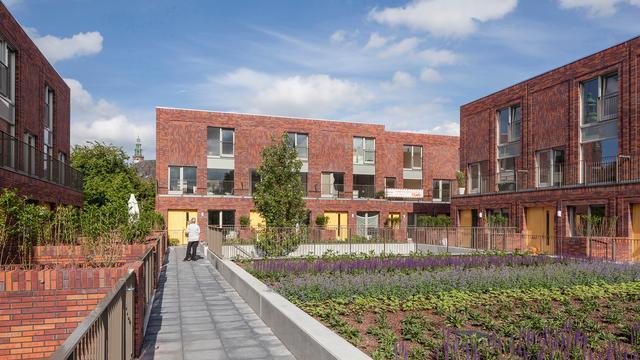 Agaathhof in Groningen in de race voor titel van beste gebouw