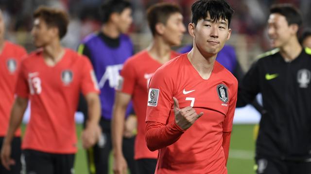 Spurs-aanvaller Son meteen van waarde voor Zuid-Korea op Azië Cup
