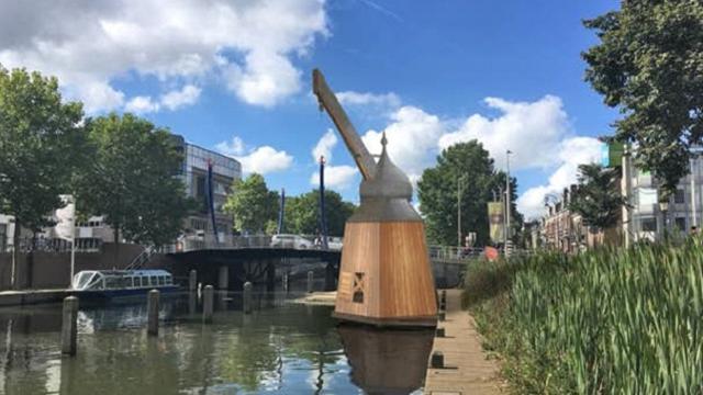 Bouw van de historische Utrechtse stadskraan gaat beginnen