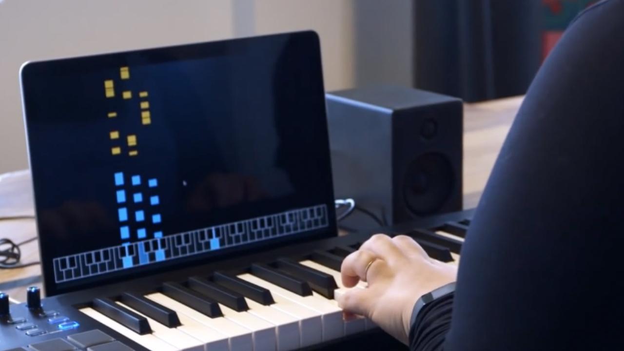 Google maakt zelflerende piano