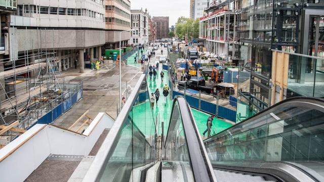 Utrechtse raad wil duidelijkheid over mysterieuze trap in stationsgebied